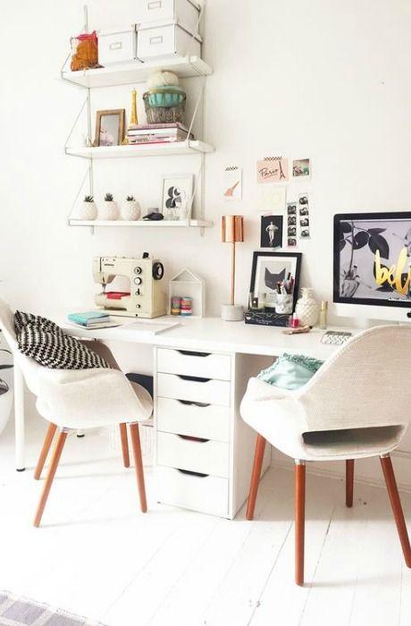 Escritorio para dos momocca deco design escritorios for Deco oficina