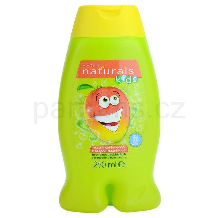 Avon Naturals Kids pěna do koupele a sprchový gel 2v1 pro děti