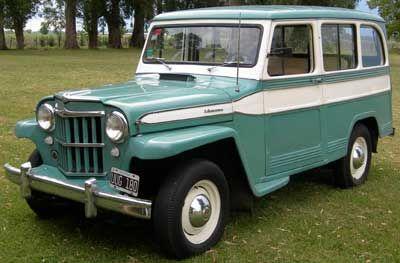 "Antigua ""Camioneta IKA"" (período 1955 - 1970), Argentina"