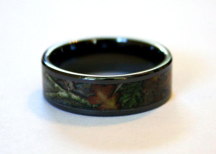 ideas about Black Wedding Rings on Pinterest Black diamond