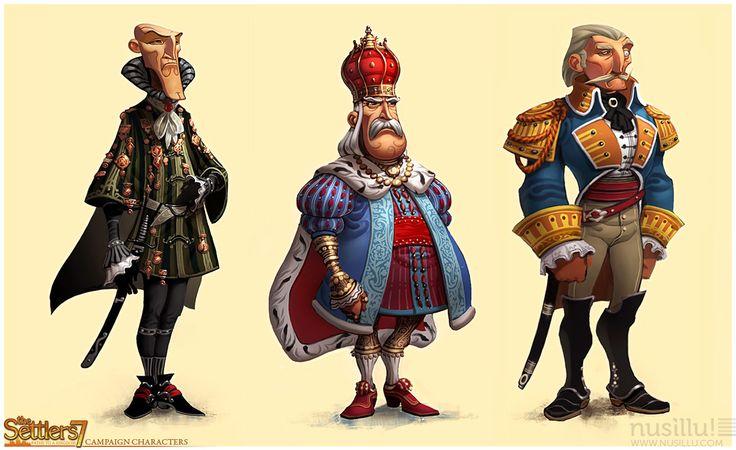 "The Settlers Online - Gremio ""Alacranes"": Personajes del Settler 7"