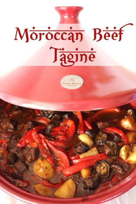 Emile+Henry+Tagine+Road+Test:+Moroccan+Beef+Tagine+and+Creamed+Polenta