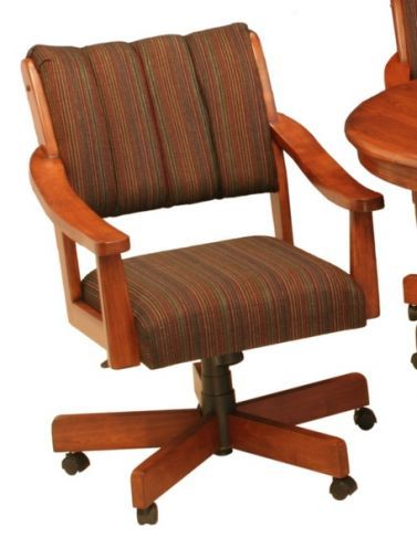 Adjustable Height Swivel Tilt Caster Dining Chairs by CR Joseph available  at www dinetteonline 29 best Caster Dining Chairs images on Pinterest   Dining chairs  . Powell Hamilton Swivel Tilt Dining Chair On Casters. Home Design Ideas