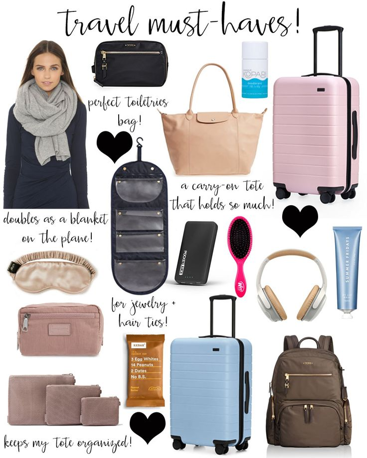 travel must-haves + away suitcase review