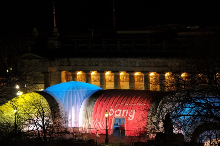 @Evolutiondome This is amazing! Inflatable Structure for BBC Bang Goes The Theory