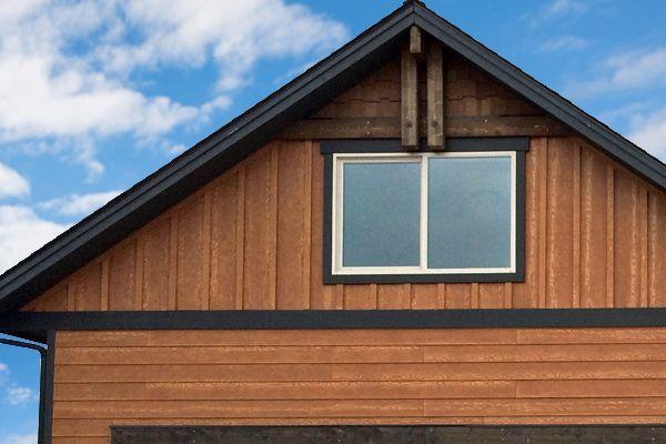 Allura Fiber Cement Siding Rustic Series Mountain Cedar Cladding Covering Wood Alternative Realistic Fiber Cement Siding Exterior Siding Cedar Cladding