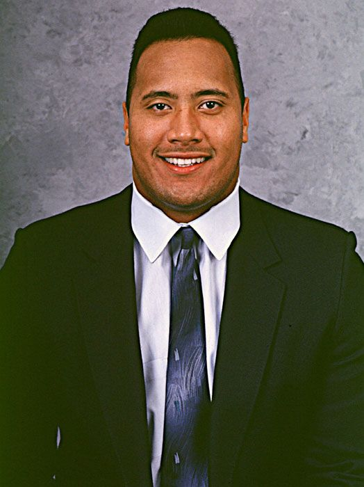 dwayne the rock johnson | ... ) Images of Young/Kid The Rock (Dwayne Johnson) WWE WWF Rocky Maivia