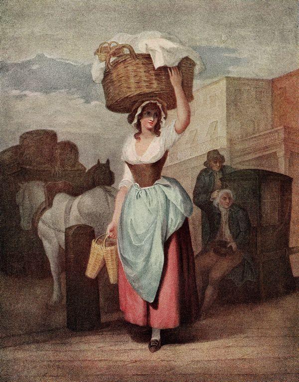 Strawberries, Scarlet Strawberries! Francis Wheatley (1747-1801) Cries of London series