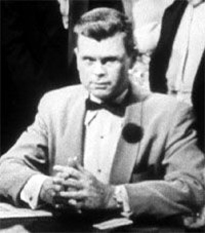 BARRY NELSON as JAMES BOND ~   Surprising Fact: Although Sean Connery is widely believed to be the first actor to play James Bond, he is actually the second.     In 1954, Fleming's first novelCASINO ROYALE was adapted into an episode for the television series CLIMAX!with Barry Nelson being the first actor to portray James Bond.