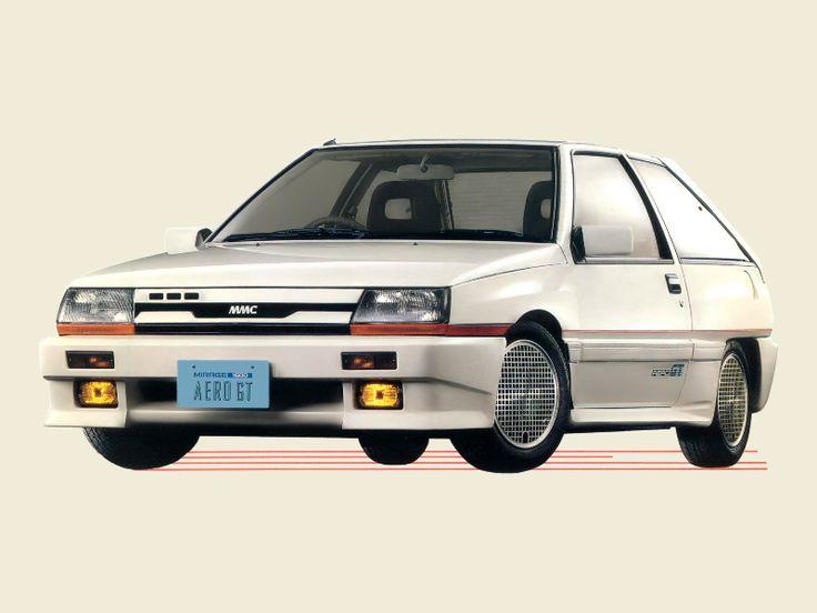 1986Mitsubishi Mirage Aero GT