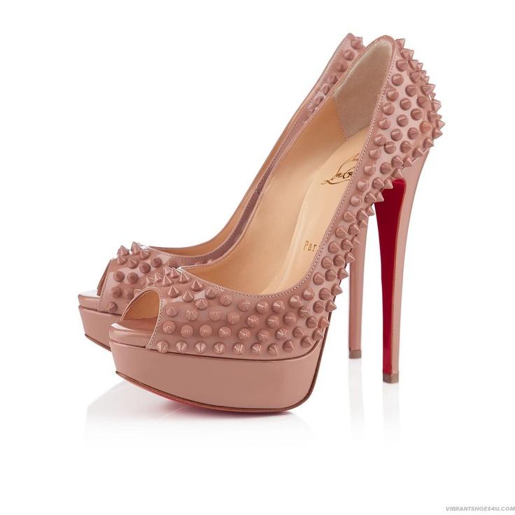 Lady Peep Spikes, Nude, Christian Louboutin, sex on my feet!