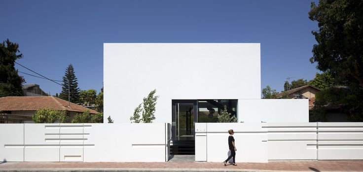 The Ramat Gan House 2 by Pitsou Kedem Architects in Ramat Gan, Israel is a…