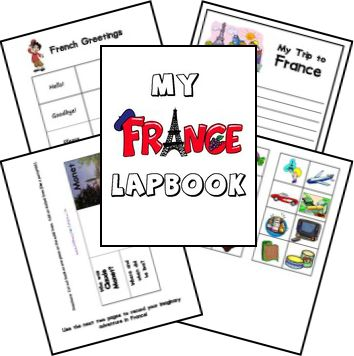 France Country Lapbook