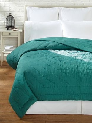 59% OFF Aviva Stanoff Large Sand Dollar Quilt (Emerald)