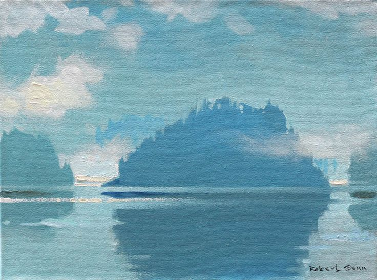 'Klag in the Octopus Islands', 2010, acrylic by Robert Genn at Mayberry Fine Art