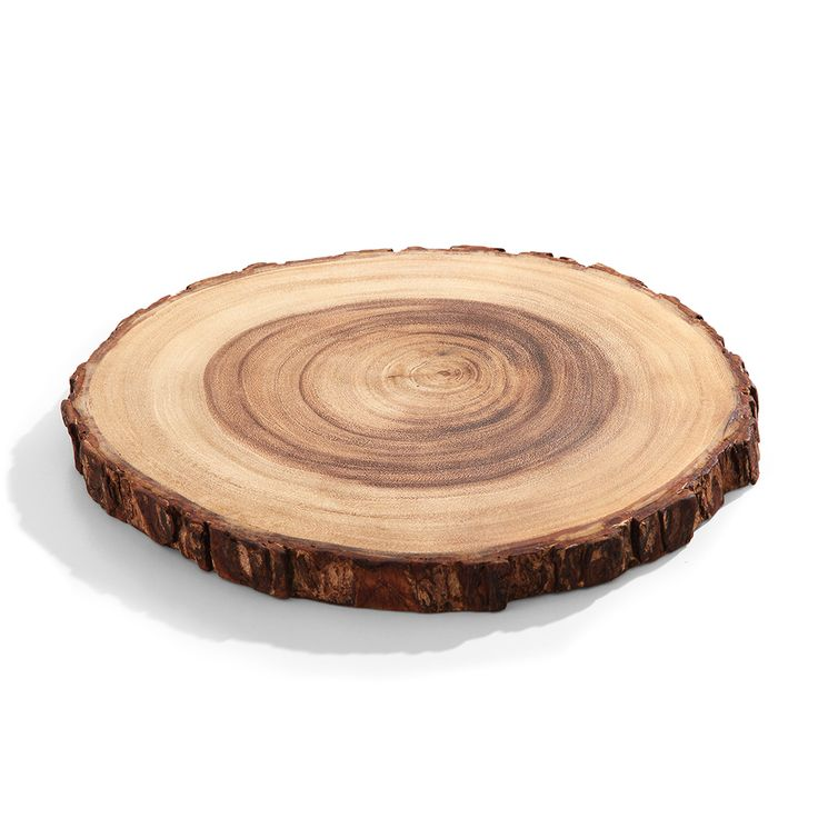 Tábua de corte de madeira redonda 31 cm - Utensílios Domésticos / Utilplast - Utilplast