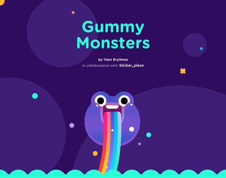 Gummy Monsters on Behance