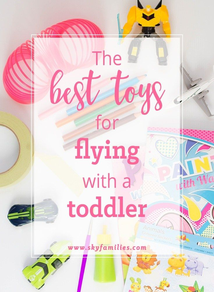 Flying with kids can be tricky but here are some of the best toys for keeping them entertained.