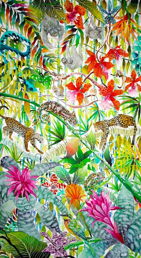 Jungle Imaginings - Kate Morgan - Artist