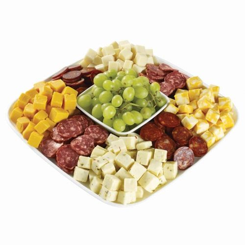 Medium Cubed Cheese & Meat Tray Wegmans Meat and