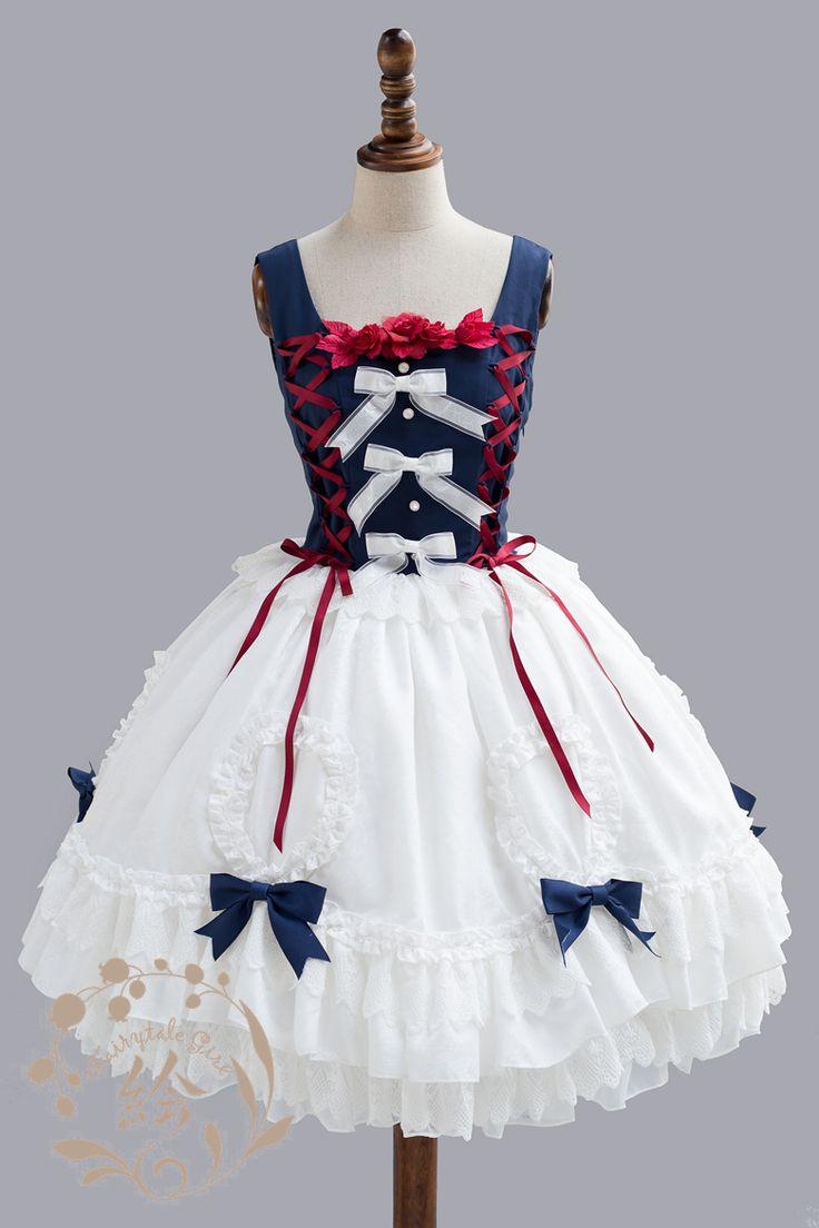 -Snow White- Classic Lolita Jumper Dress