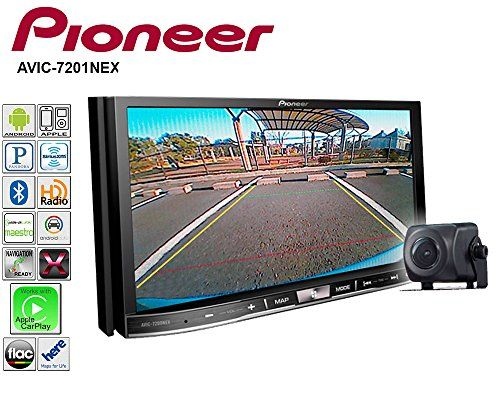 "Pioneer AVIC-7201NEX 7"" Navigation Receiver with CarPlay, Android Auto and Included ND-BC8 Backup Camera. For product info go to:  https://www.caraccessoriesonlinemarket.com/pioneer-avic-7201nex-7-navigation-receiver-with-carplay-android-auto-and-included-nd-bc8-backup-camera/"