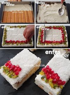 Kar Yağdı Pastası Tarifi