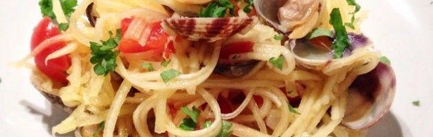 Spaghetti pompoen met vongole | Oerkracht voedingsadvies