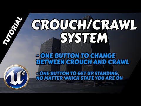 UE4 Tutorial | Crouch/Crawl System | Blueprint [FPS