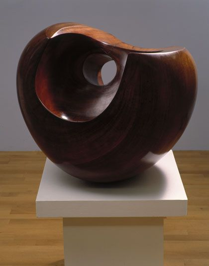 Barbara Hepworth Configuration (Phira), Guarea wood, 1955 (BH 200), Leeds City Art Gallery
