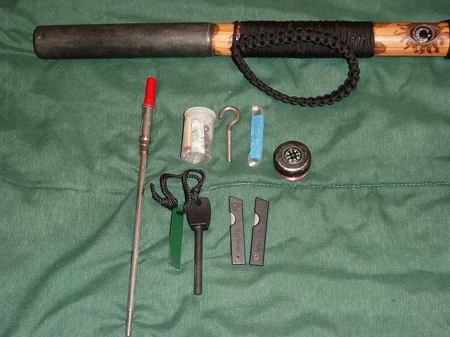 Diy Survival Walking Stick Tutorial For Walking Stick
