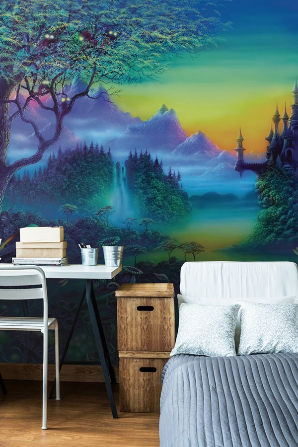 Perfect for teenage bedrooms, these intriguing wall murals by Danny Flynn are sure to bring magic and mystery to their space. Find this and more mystic ...