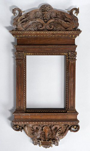 Tabernacle frame, ca. 1510  Florence  Walnut and poplar
