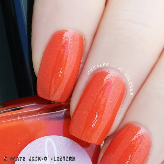 Jack-O'-Lantern - Halloween - Orange Creme Nail Polish ...