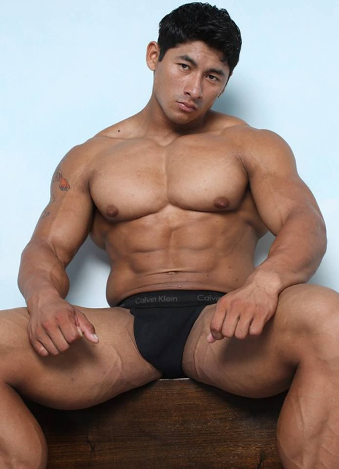 muscle Hot hunk asian