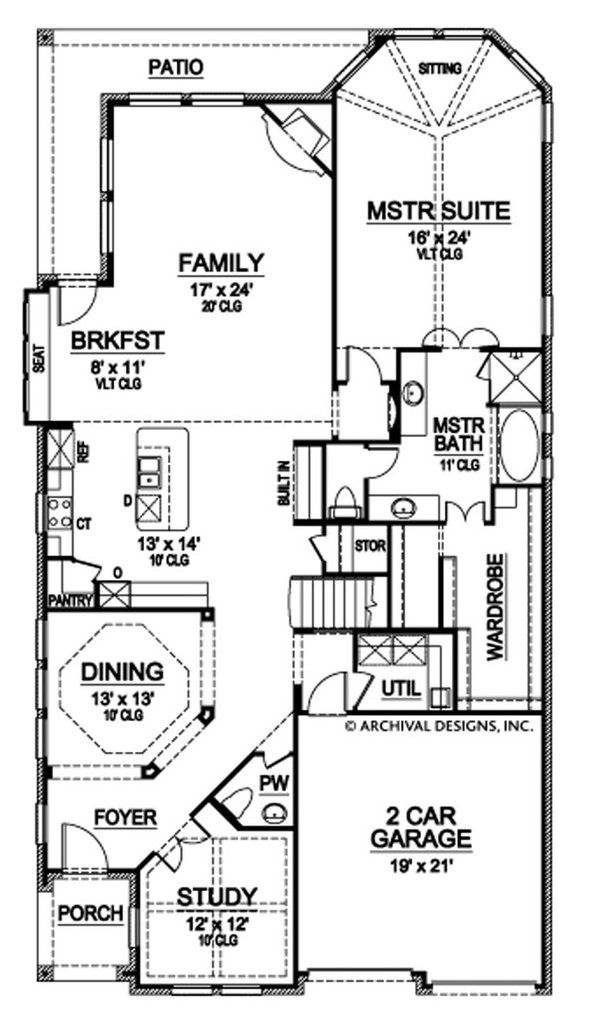 Topaz Way House Plan House Plans Floor Plans Build A Closet
