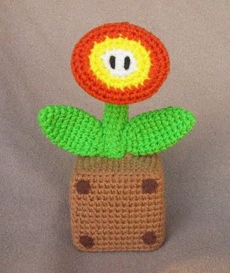 Amigurumi Mario Pattern : Free Mario Fire Flower crochet pattern at ...