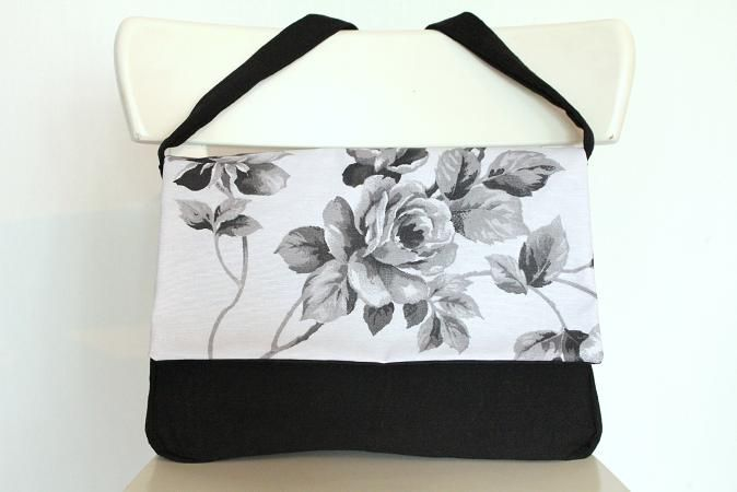 Handtas Black Roses