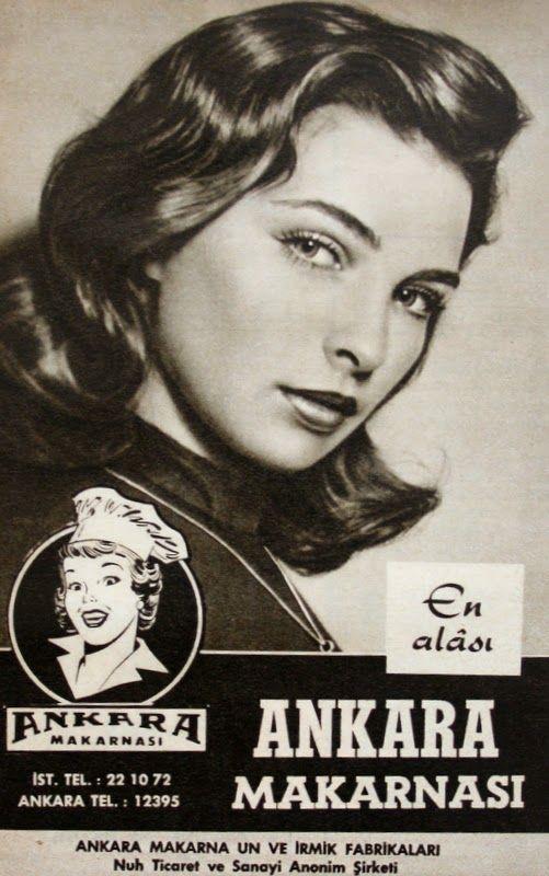 OĞUZ TOPOĞLU : ankara makarnası 1959 nostaljik eski reklamlar 2
