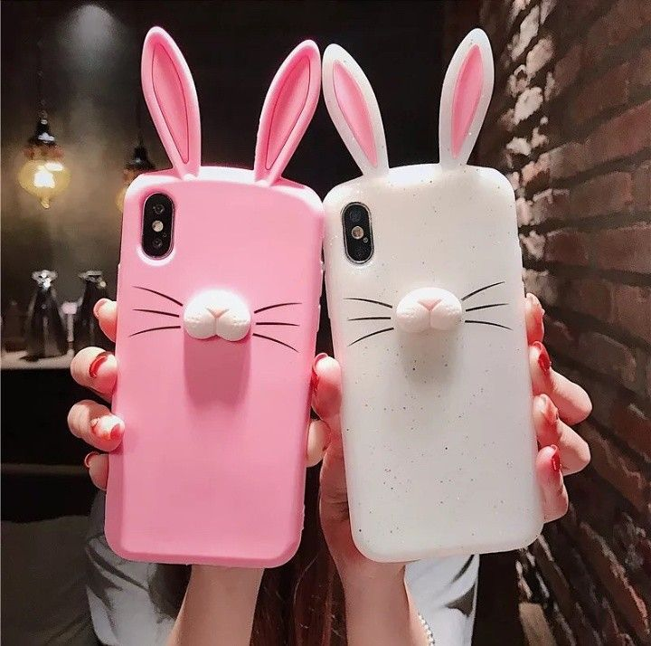 newest 2a20c cf453 Adorable bunny phone case! | DIY cellphone cases in 2019 | Iphone ...