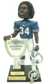 Miami Dolphins Ricky Williams 2003 AFC Rushing Leader Forever Collectibles Bobblehead Z157-8132910014