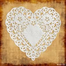 """Résultat de recherche d'images pour """"napperon papier coeur"""""""