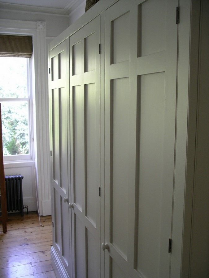 Image detail for -custom made period style wardobe with panelled doors