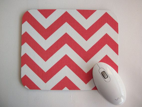 Mouse Pad mousepad / Mat   Home office computer Desk by Laa766, $9.25   chic / cute / preppy / teacher / student / laptop accessory / desk accessory / office decor / graduation / dorm / gift
