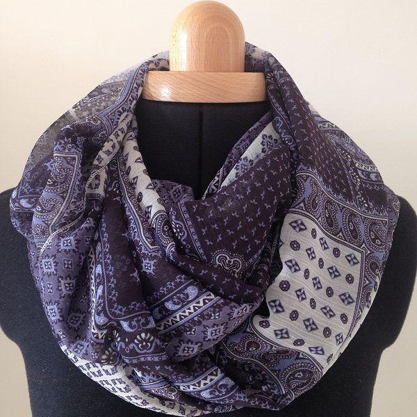foulard marie