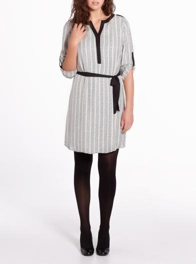 3/4 Sleeve Shirt Dress = 25.19