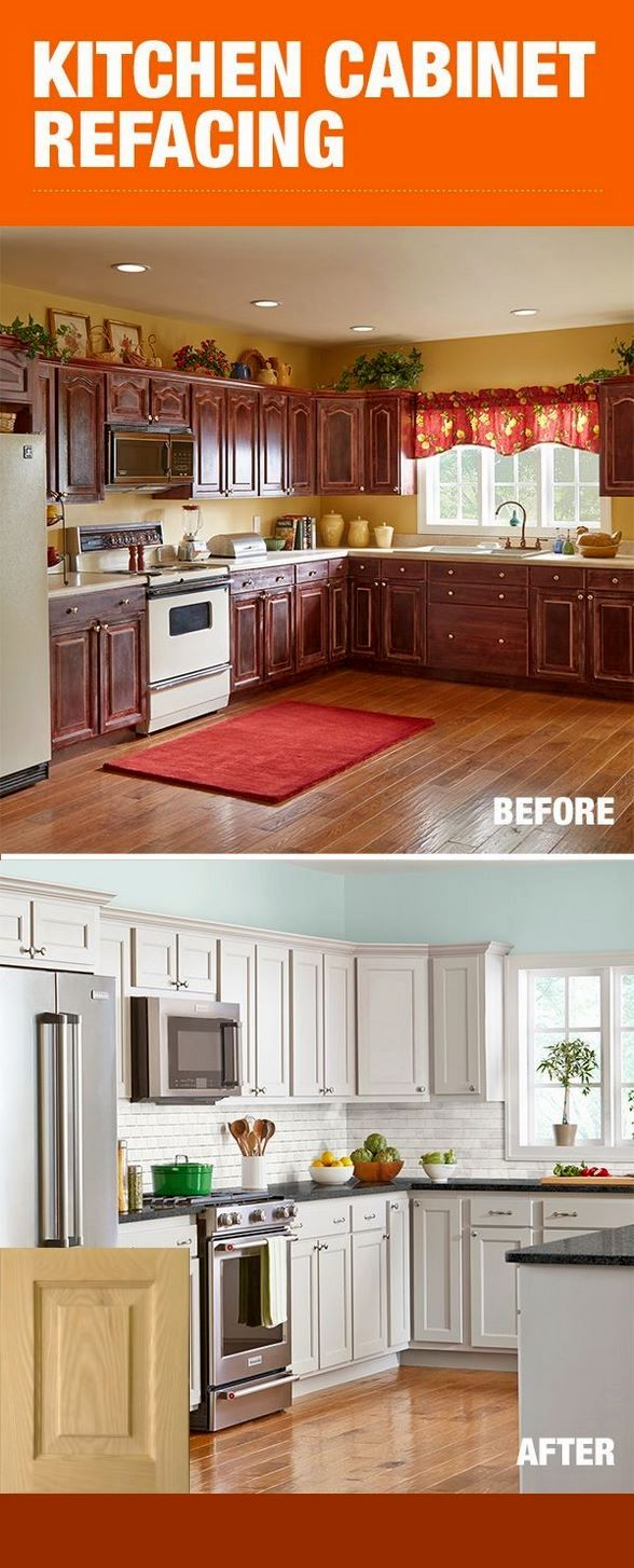 Before And After Pictures Of Glazed Kitchen Cabinets # ...