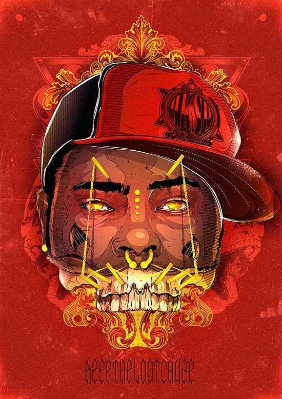 Reef the lost cauze skull: Musicr Hiphop, Cauz Skull