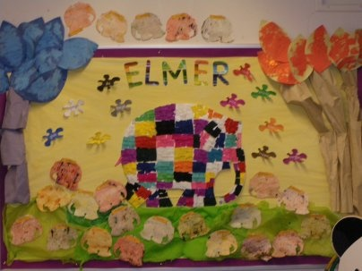 We absolutely love Elmer! Check out our related resources at http://www.twinkl.co.uk/resources/elmer #twinkl #classroom_display