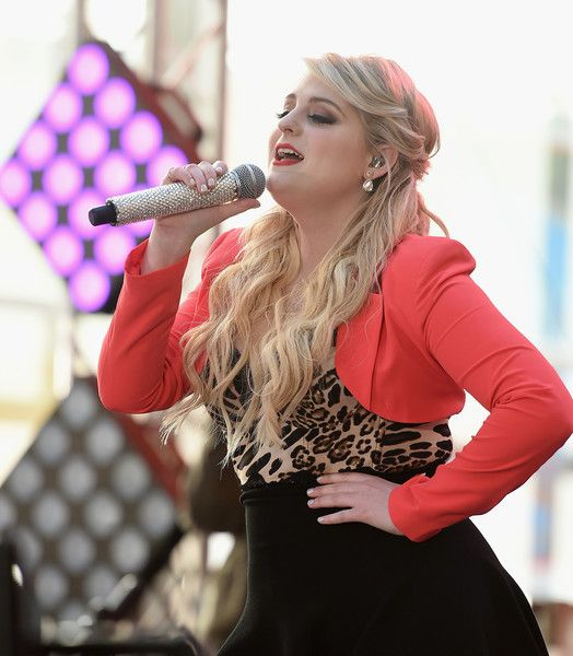 The Love Train Meghan Trainor: Meghan Trainor's Album All About That Bass Topped The